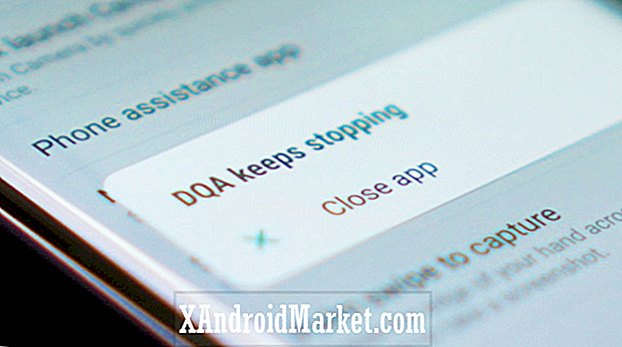 "Samsung ruller ud Galaxy S8 opdatering for at rette ""DQA holder stoppe"" problem"