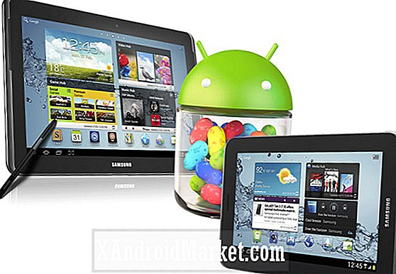 Leaked: Mise à jour Android 4.1.1 Jelly Bean pour Galaxy Tab 2 7.0 et Galaxy Note 10.1