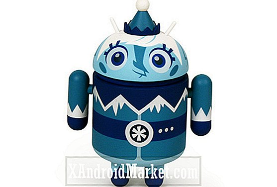 Ny android mini collectible Frankie Frost på vägen