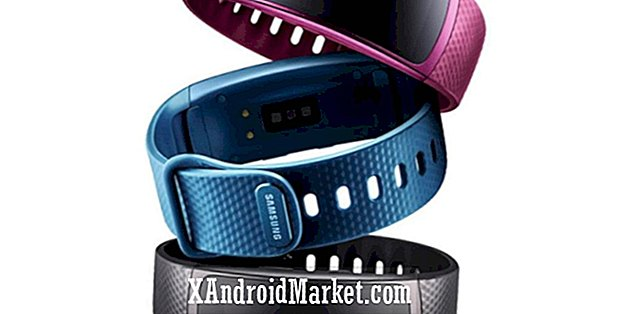 Samsung presenterar Gear Fit 2 Wearable och Gear IconX öronproppar
