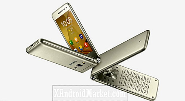 Samsung lanserar sin Galaxy Folder 2 flip-phone