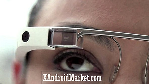 Google patenthologram aktiverade Google Glass