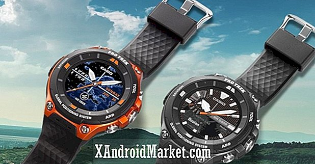 Den Android Wear 2.0-drevne Casio Pro Trek Smart WSD-F20 lancerer til $ 499