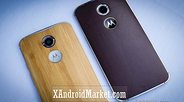 AT & T Moto X (2. gen) får nu Android 5.1 Lollipop