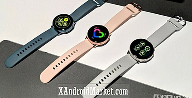Hands-on: Samsung Galaxy Watch Active et Galaxy Fit sont ici!  (Vidéo)