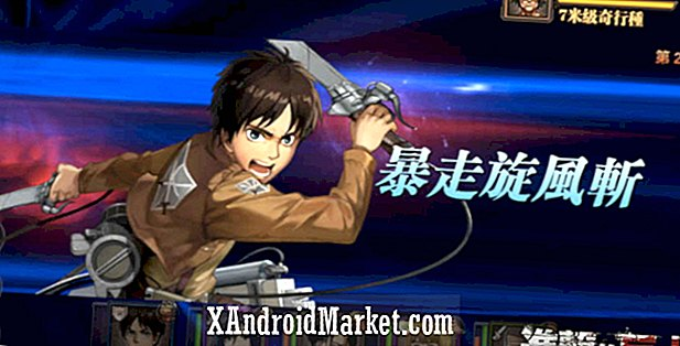 Tencent développant le jeu mobile Attack on Titan