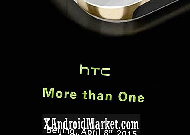 HTC One M9 + lanseras den 8 april i Peking