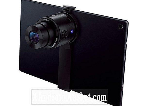 Sony's nieuwe mounts veranderen tablets in high-end camera's, maar alleen in Japan