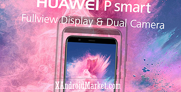 Huawei P Smart med EMUI 8.0, FullView display lanceringer på Vodafone UK