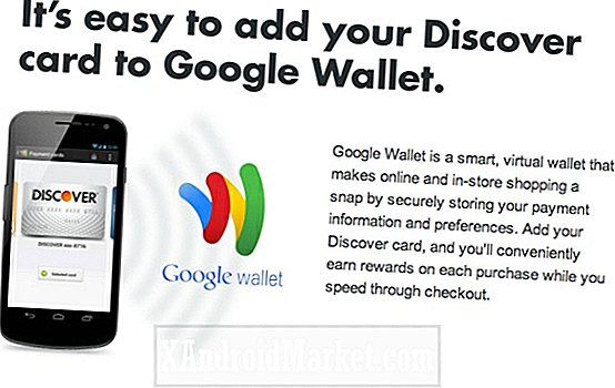Opdag implementerer Google Wallet API