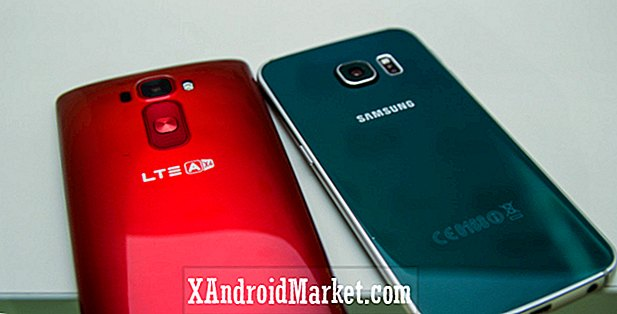Samsung Galaxy S6 Edge vs. LG G Flex 2 vistazo rápido