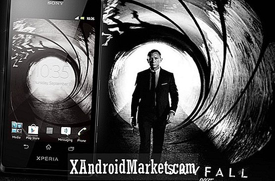 Sony Xperia T, James Bond-telefonen annonceret for Canada