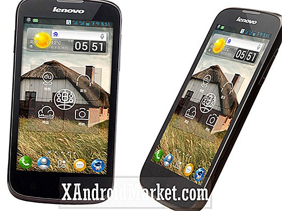Baidu Cloud-powered Lenovo A586 er officiel, kommer 10 december med Voice Unlock for $ 160