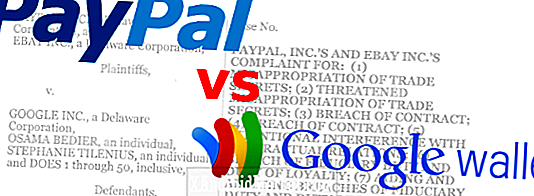 PayPal, eBay Cry Foul over Google Wallet;  Google Cries No Foul