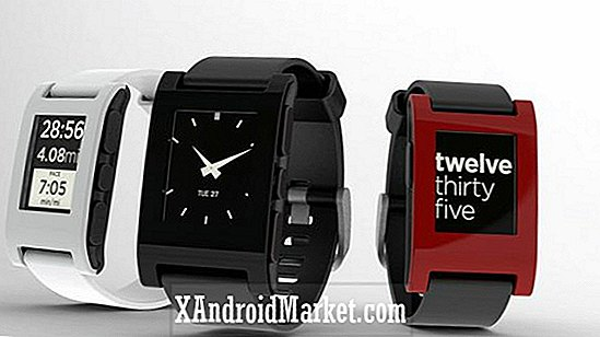 Pebble smartwatch til at starte fragt til backers den 23. januar