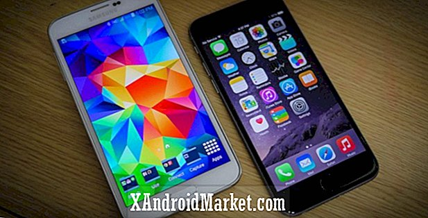iPhone 6 vs Samsung Galaxy S5 coup d'oeil