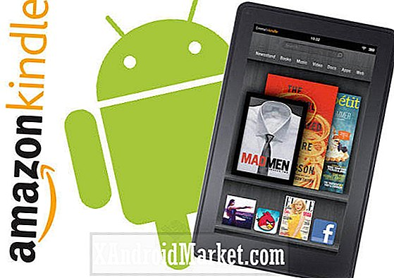 Kindle Fire Nu Udstyret med 'Pre-Alpha' Android ICS Stage