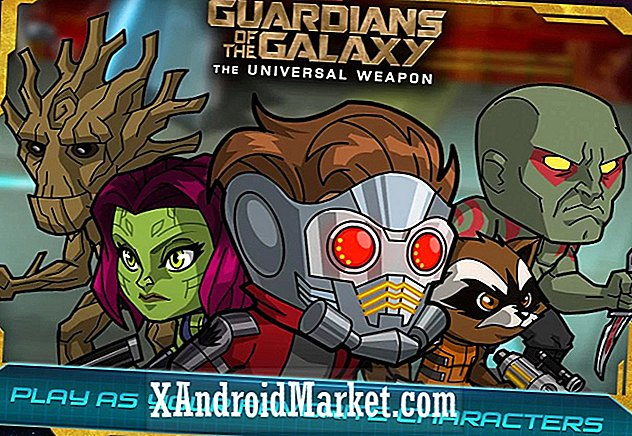 Guardians of the Galaxy zijn op Android, geen in-app aankopen