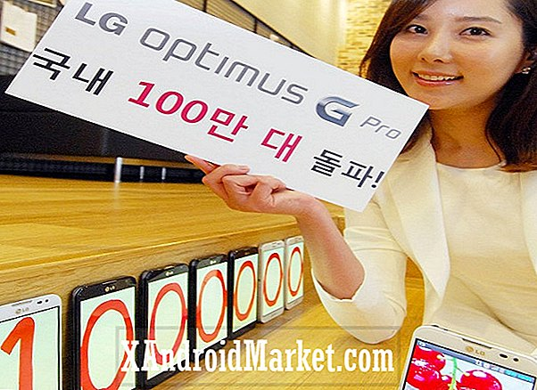 LG Optimus G Pro atteint 1 million d'unités vendues