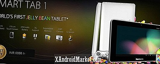 MIPS-baserede Smart Tab 1 bringer $ 125 Jelly Bean tablet til Indien