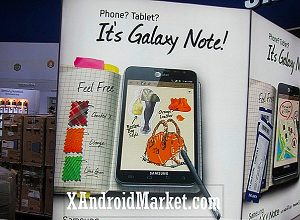 AT & T Galaxy Note bevestigd!