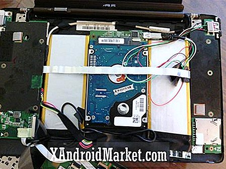 Talented Modder Crams 500 GB harddisk til Asus Transformer