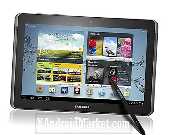 Galaxy Note 10.1 (N8000) modtager KitKat opdatering, i Tyskland