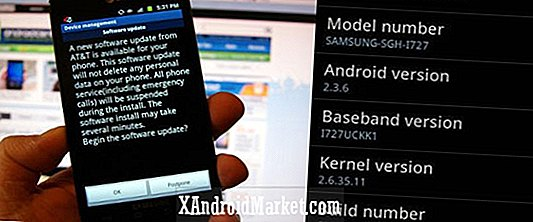 Android 2.3.6 Déploiement sur Galaxy S2 Skyrocket