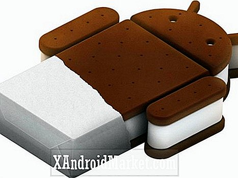Conceptual Ice Cream Sandwich Tema til din Android Installation