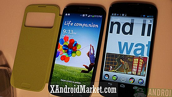 Samsung Galaxy S4 contre Google Nexus 4