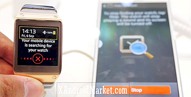 "Video: Galaxy Gear / Note 3 ""Find min enhed"" funktion"