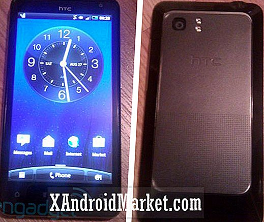 "En anden 4,5 ""Android Phone: HTC Holiday Pictures Lækket"
