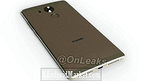 Metalen omlijsting Huawei Mate 8 betrapt op camera