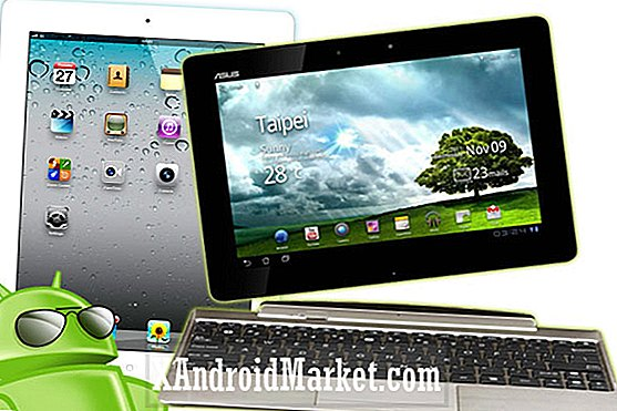 iPad 3 versus ASUS Transformer Prime met Android 4.0: GAME FIGHT!