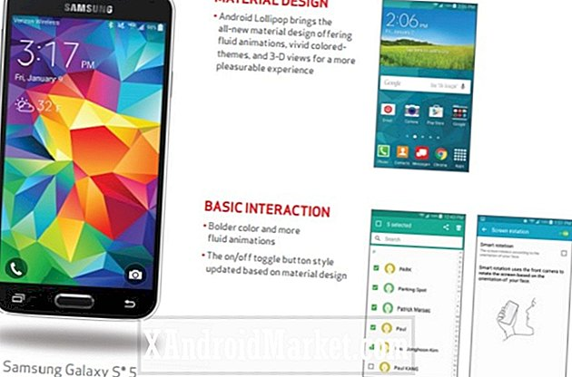 Android 5.0 Lollipop ruller ud til Verizon Galaxy S5