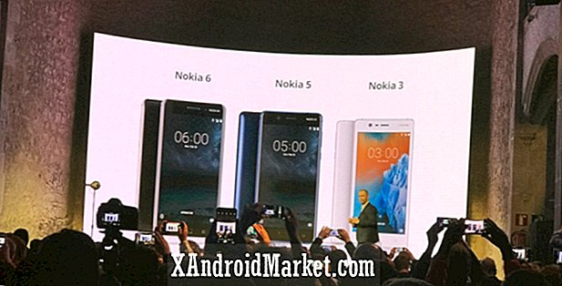Nokia 6 s'internationalise, Nokia 5 et 3 annoncés