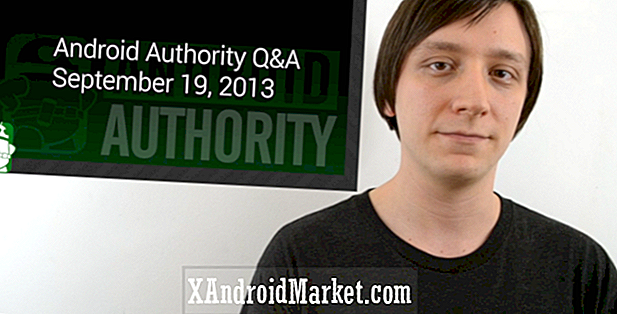 Q & A voor Android-autoriteit - 18 september 2013