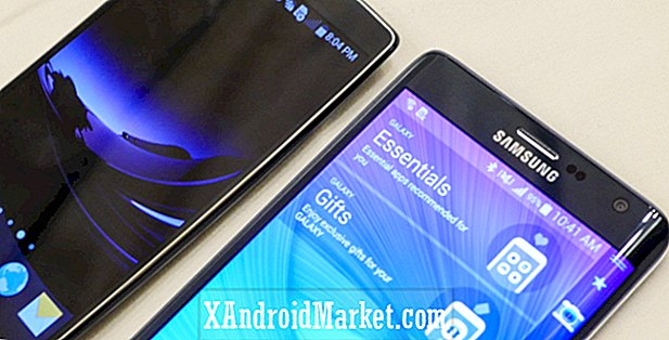 LG G Flex 2 vs Samsung Galaxy Note Edge snelle look