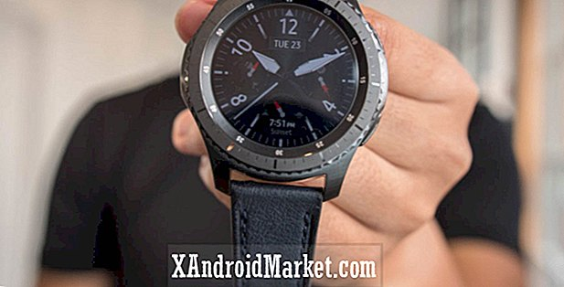 Samsung Pay on the gear S3 i øjeblikket ikke kompatibel med Pixel smartphones