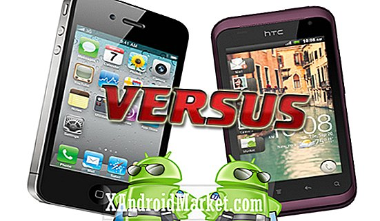 HTC Rhyme vs iPhone 4S
