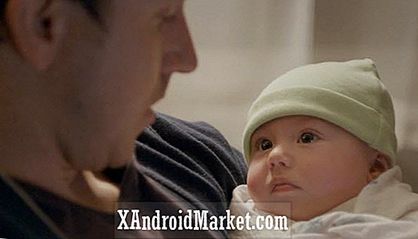 "Galaxy S4 commercial ""Quick Snooze"" gaat door met vader en baby thema, is net zo schattig"