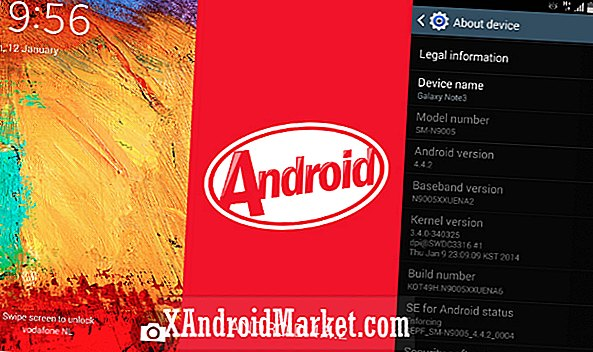 Galaxy Note 3 Android 4.4.2 KitKat ROM beschikbaar om te downloaden (test build N9005XXUENA6)