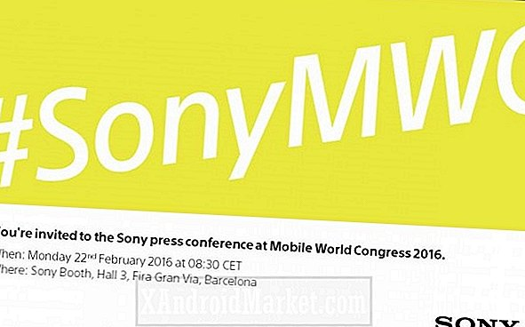 Sony envoie ses invitations au MWC 2016