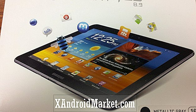 Unboxing Samsung Galaxy Tab 8.9 [Hands-On Video]