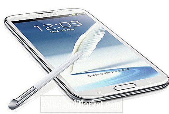 Galaxy Note 2 bliver benchmarked, scorer bedre end S3