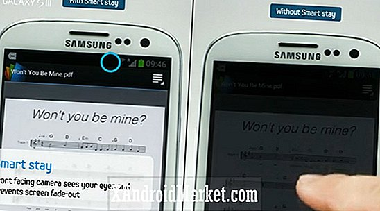 Eye Pause og Eye Scroll - kommer til Galaxy S4?