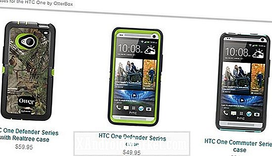 HTC One-cases van OtterBox komen eraan