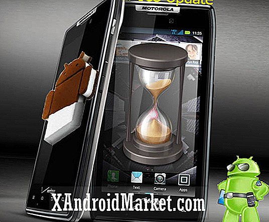 Motorola Droid Razr krijgt ICS ROM [WIP] [Video]
