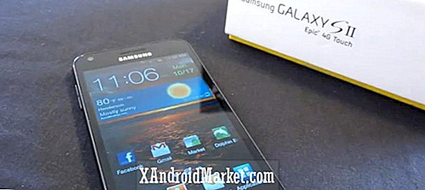 Samsung Galaxy S2 Epic 4G Fuld Touch Video Review og hands-on