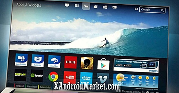 Philips kondigt Android-aangedreven 4K-tv aan